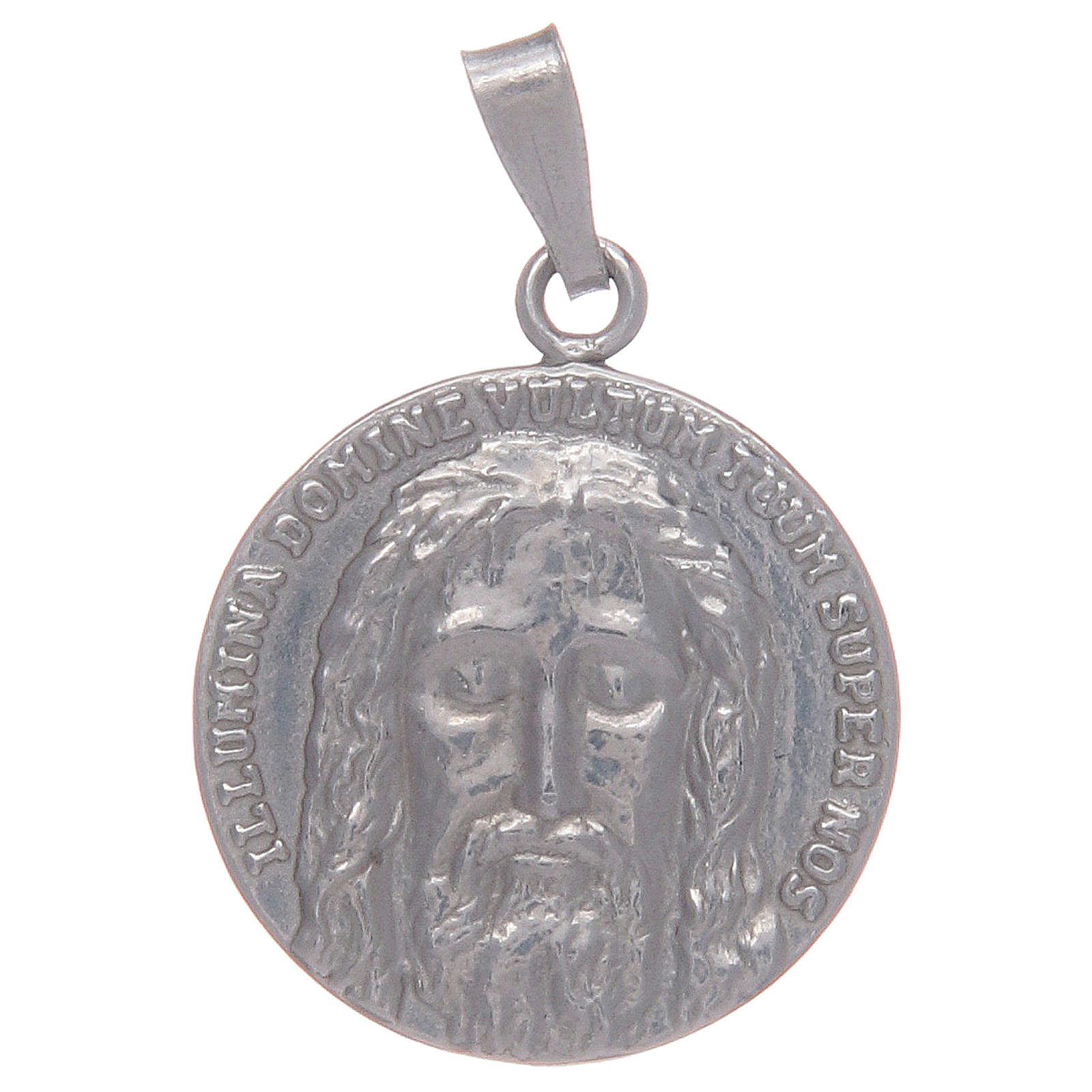 Medaglia argento 925 Sacra Sindone 4