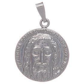 Medalha em prata 925 Santo Sudário s1