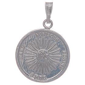 Medalha em prata 925 Santo Sudário s2