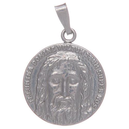 Medalha em prata 925 Santo Sudário 1