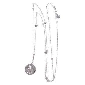 Collar AMEN llamador de ángeles plata 925 y perlas s3