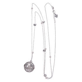 Collier AMEN grelot de grossesse argent 925 et perles s3