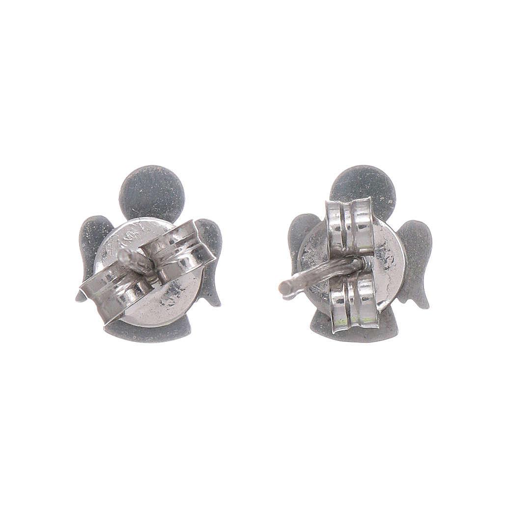 Engel Ohrringe AMEN Silber 925 4