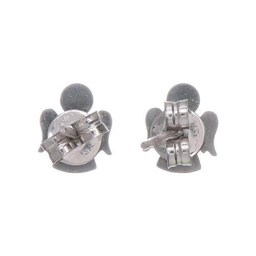 Engel Ohrringe AMEN Silber 925 3