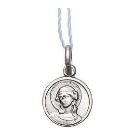Medaille Erzengel Gabriel Silber 925 10mm s1