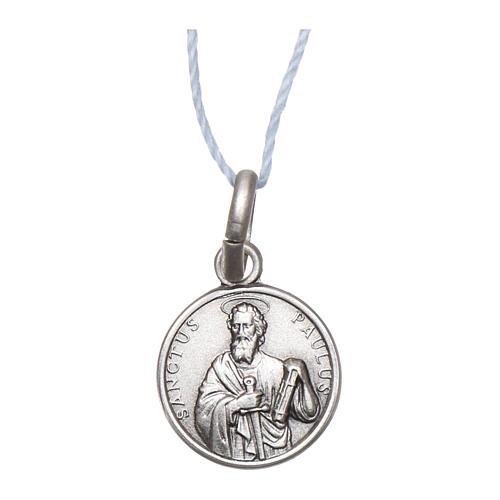 Medalla San Pablo Plata 925 rodiada 10 mm 1