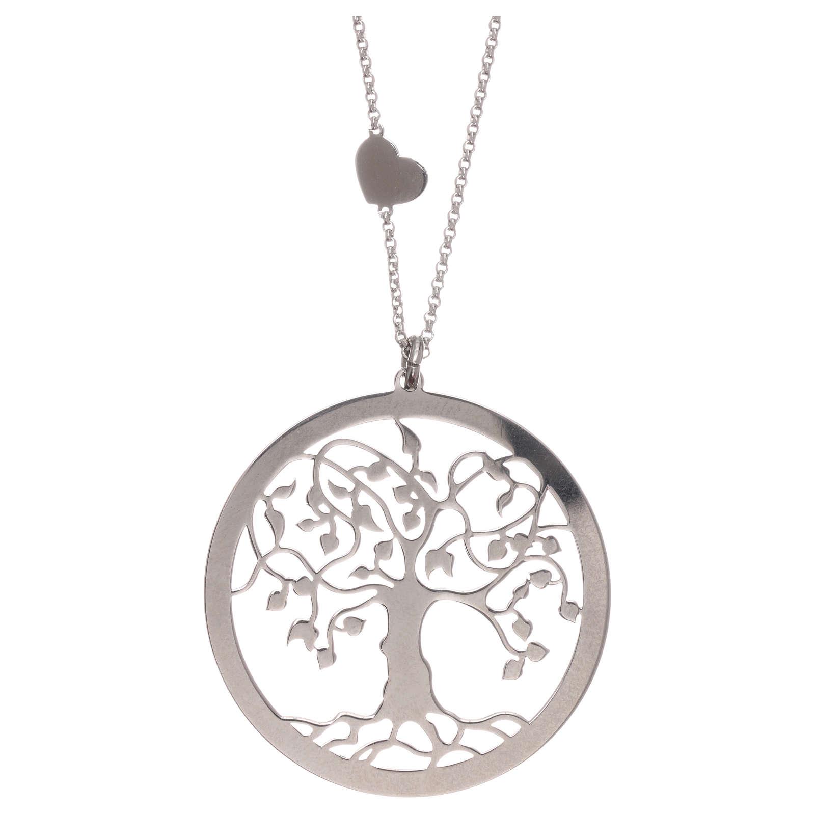 Collana AMEN arg 925 finitura rodiata albero della vita  4