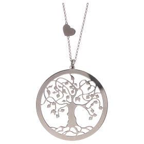 Collana AMEN arg 925 finitura rodiata albero della vita  s3