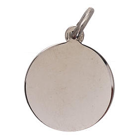 Medaille Erzengel Michael Silber 925 16mm s2