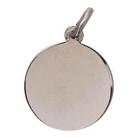 Medalik Święty Michał Archanioł srebro 925 średnica 16 mm s2