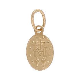 Medalla Milagorsa colgante oro 18 quilates 0,6 gramos s2