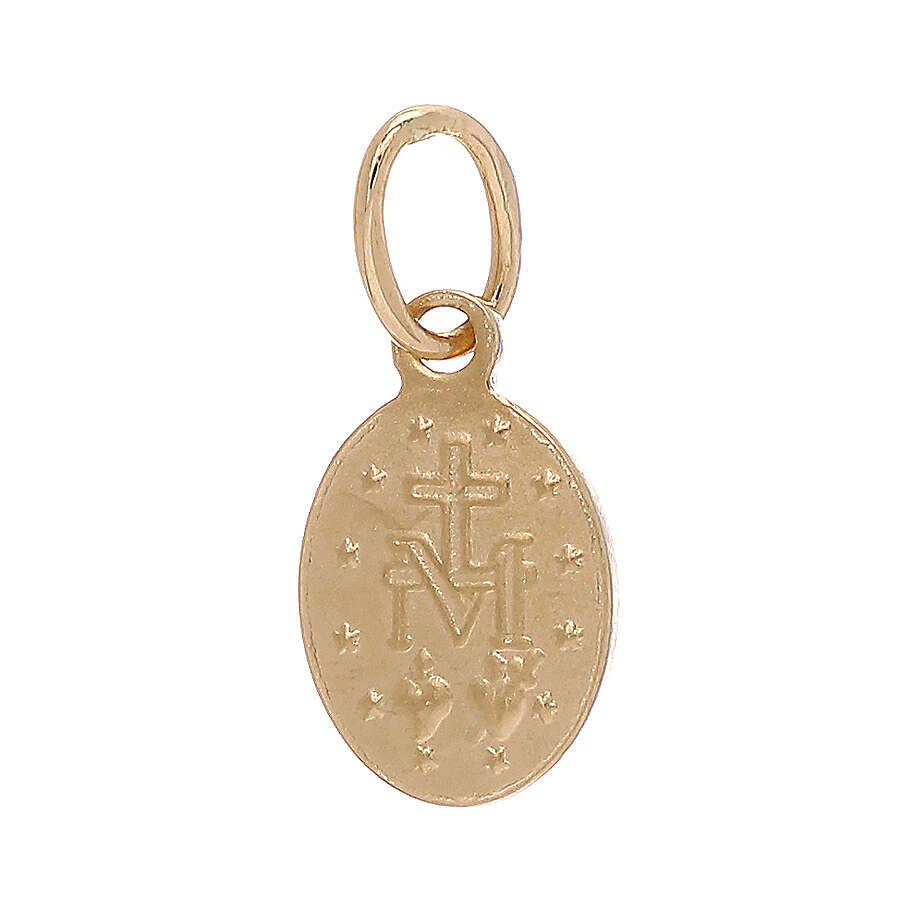 Miraculous Medal pendant 18-carat gold 0.6 gr 4