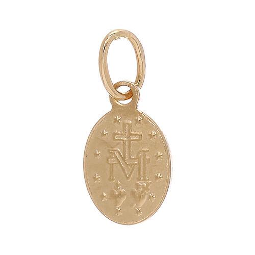 Miraculous Medal pendant 18-carat gold 0.6 gr 2