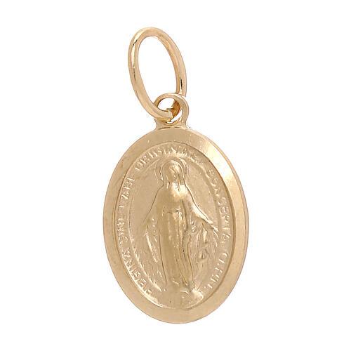 Miraculous Medal pendant 18-carat gold 1.2 gr 1