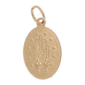 Pendente Medaglia Miracolosa oro giallo 18 carati 1,8 grammi s2