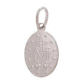 Miraculous Medal pendant 18-carat white gold 1.2 gr s2