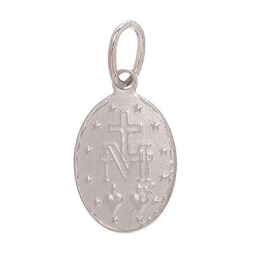 Miraculous Medal pendant 18-carat white gold 1.2 gr 2