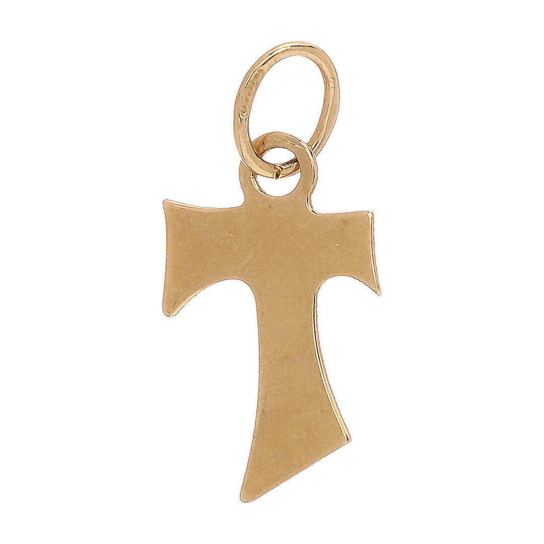 Tau pendant 18-carat yellow gold 0.4 gr 4