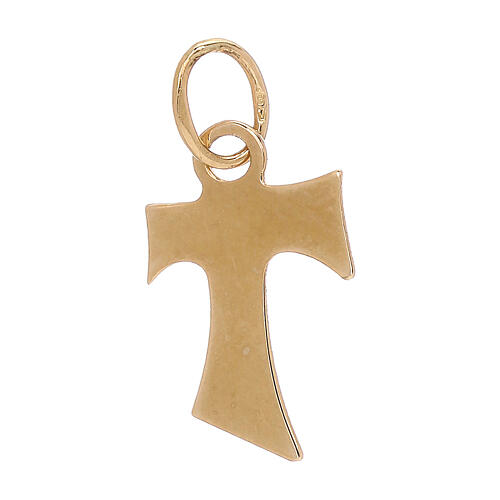 Tau pendant 18-carat yellow gold 0.4 gr 2