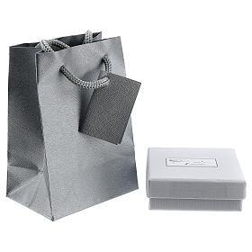 Mini pendentif Tau or blanc 750/00 satiné 0,2 gr s3