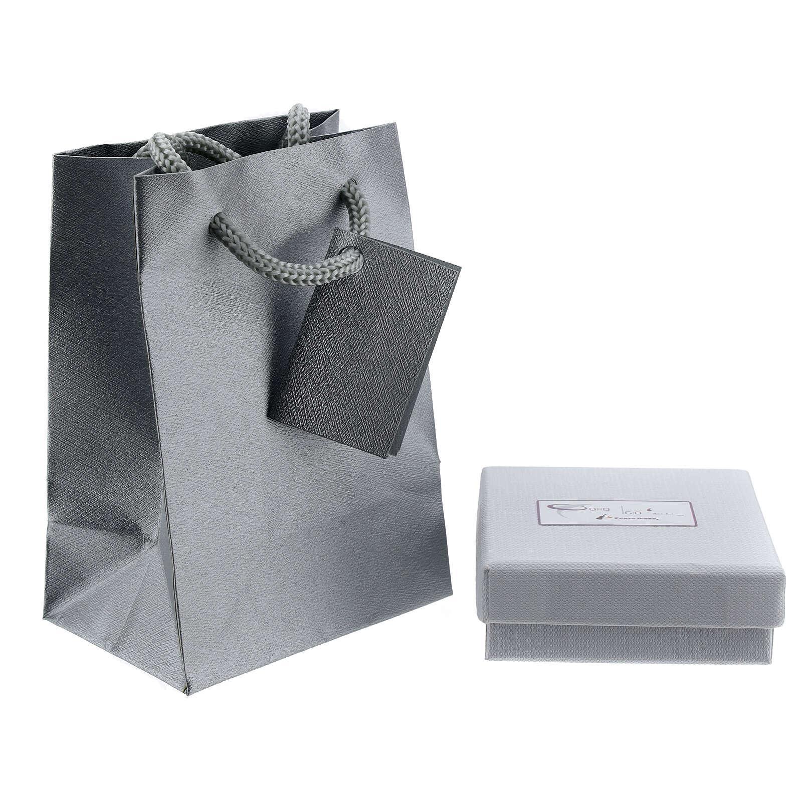 Box chain 750/00 white gold 16 1/2 in 4