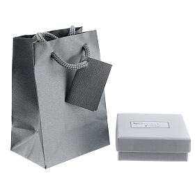 Box chain 750/00 white gold 16 1/2 in s3