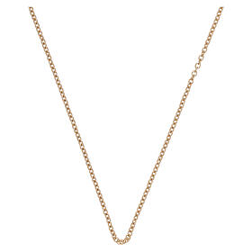 Rolo chain 750/00 yellow polished gold 15 3/4 in s1