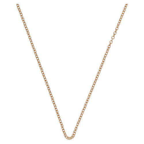 Rolo chain 750/00 yellow polished gold 15 3/4 in 1