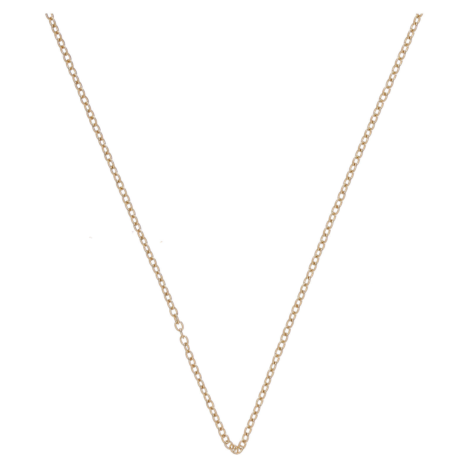 Rolo chain 18-carat yellow gold 19 3/4 in 4