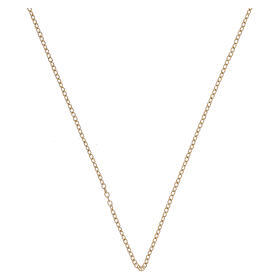 Rolo chain 18-carat yellow gold 19 3/4 in s1