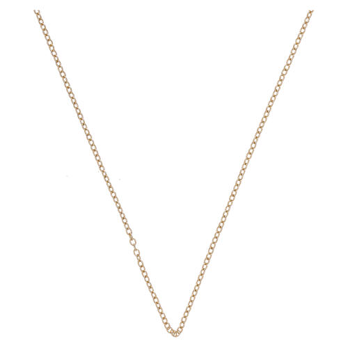 Rolo chain 18-carat yellow gold 19 3/4 in 1