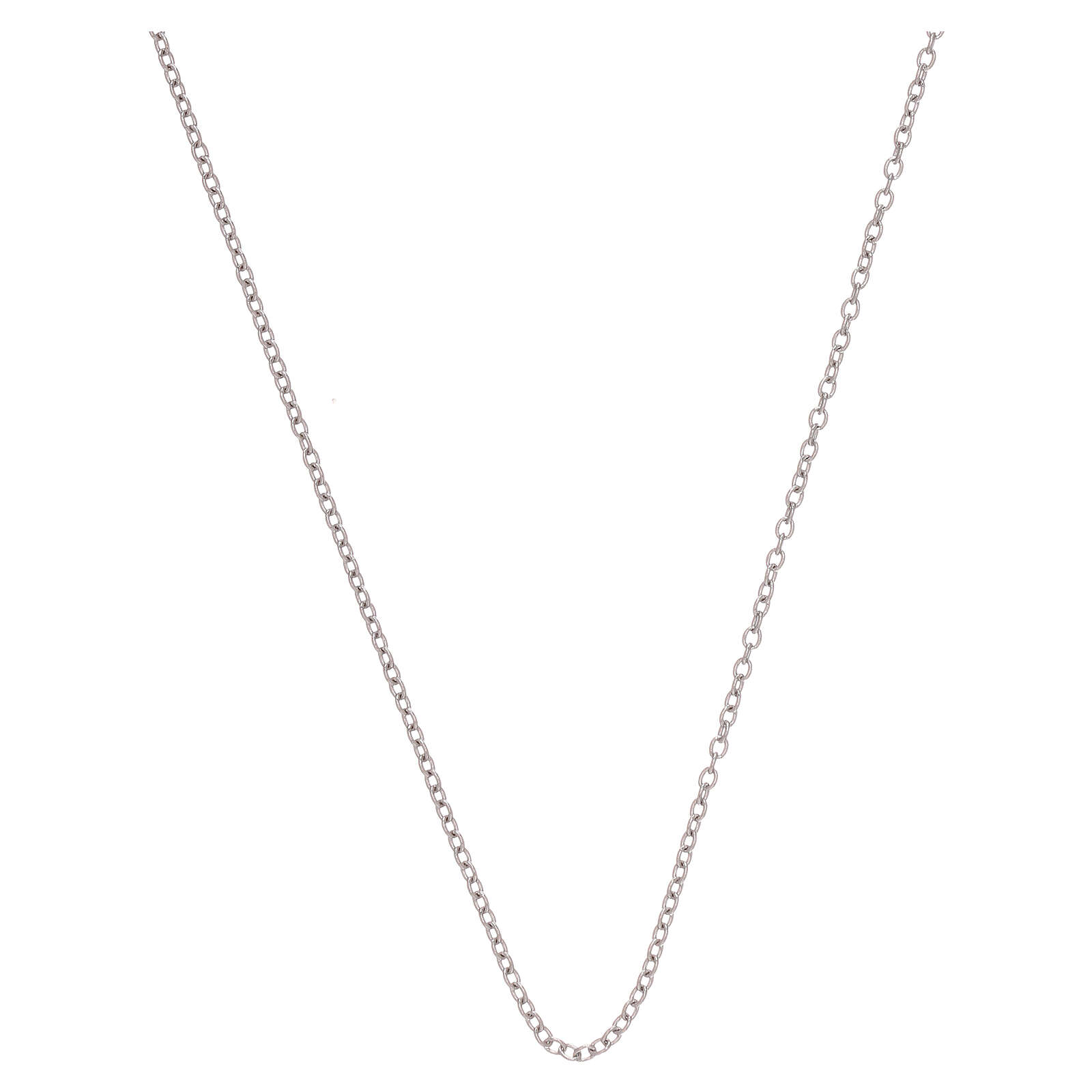 Rolo chain 750/00 white gold 19 3/4 in 4