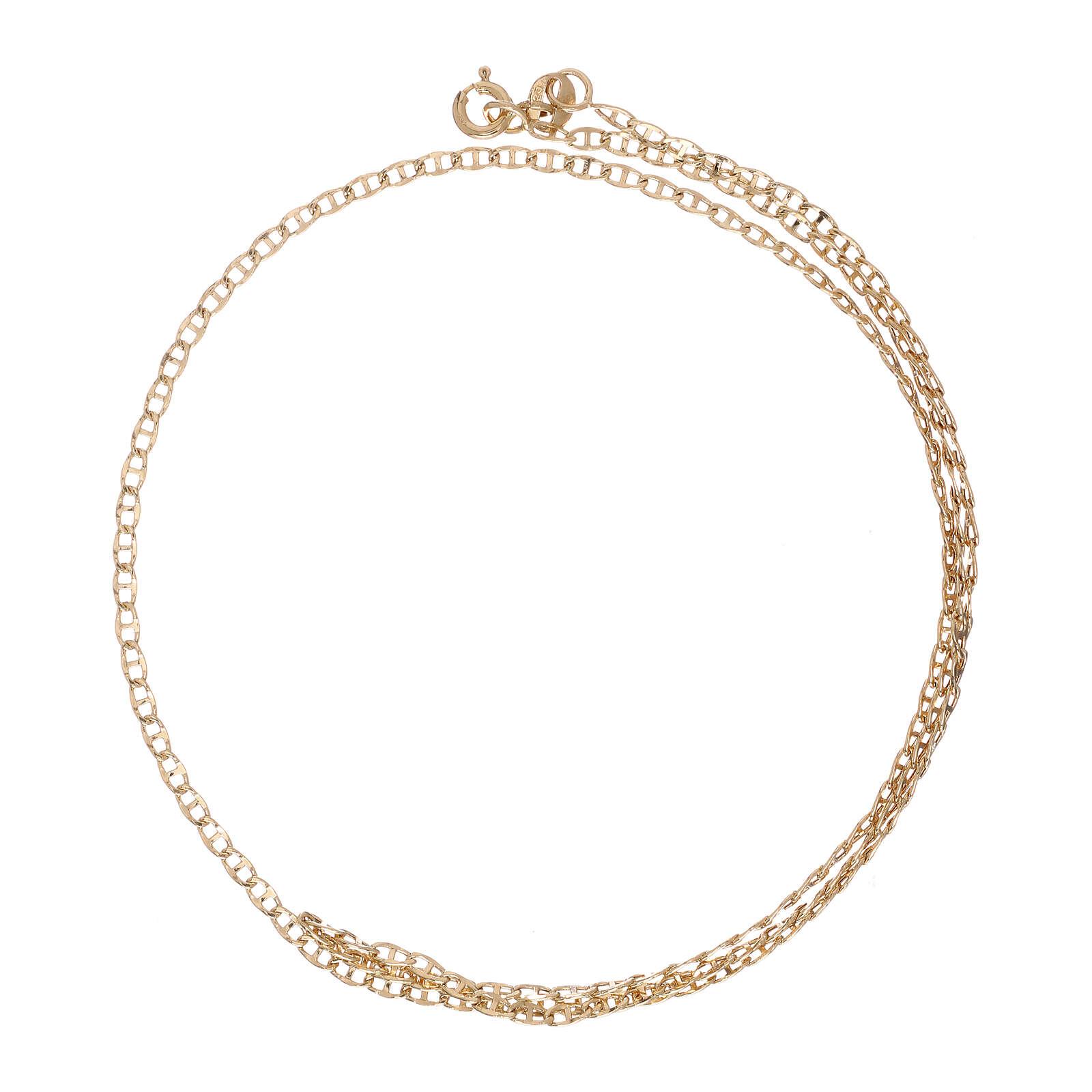 Mariner chain 18-carat yellow gold 19 3/4 in 4