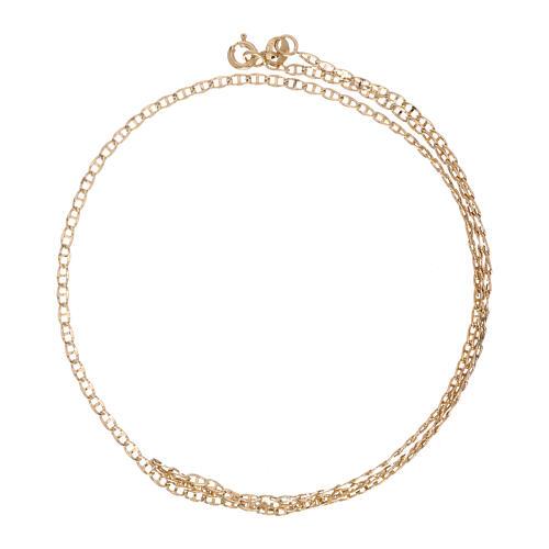 Mariner chain 18-carat yellow gold 19 3/4 in 2