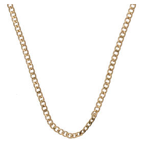 Empty curb chain 750/00 yellow gold 19 3/4 in s1