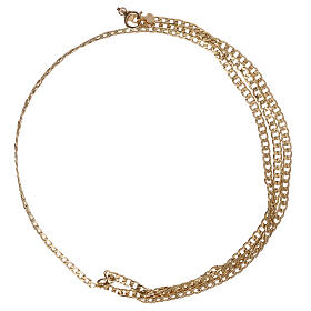 Empty curb chain 750/00 yellow gold 19 3/4 in s2