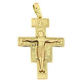 Colgante cruz San Damián oro 18 quilates 8,8 gr s1