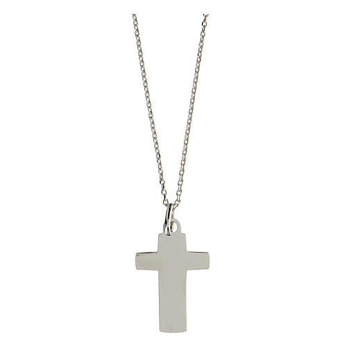 Collana croce Vero Amore argento 925 media 2
