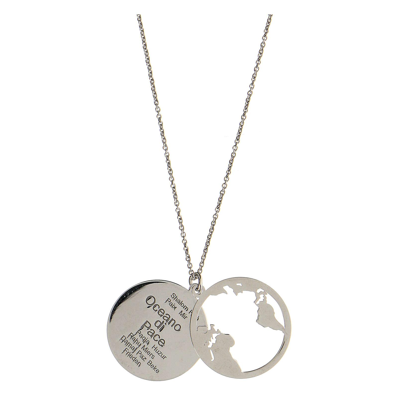 Collana Oceano di Pace argento 925 4