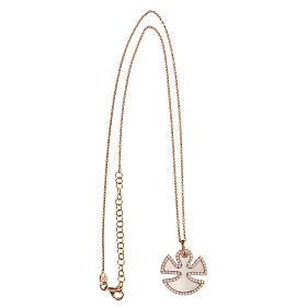 Collana angelo argento 925 madreperla zirconi s3