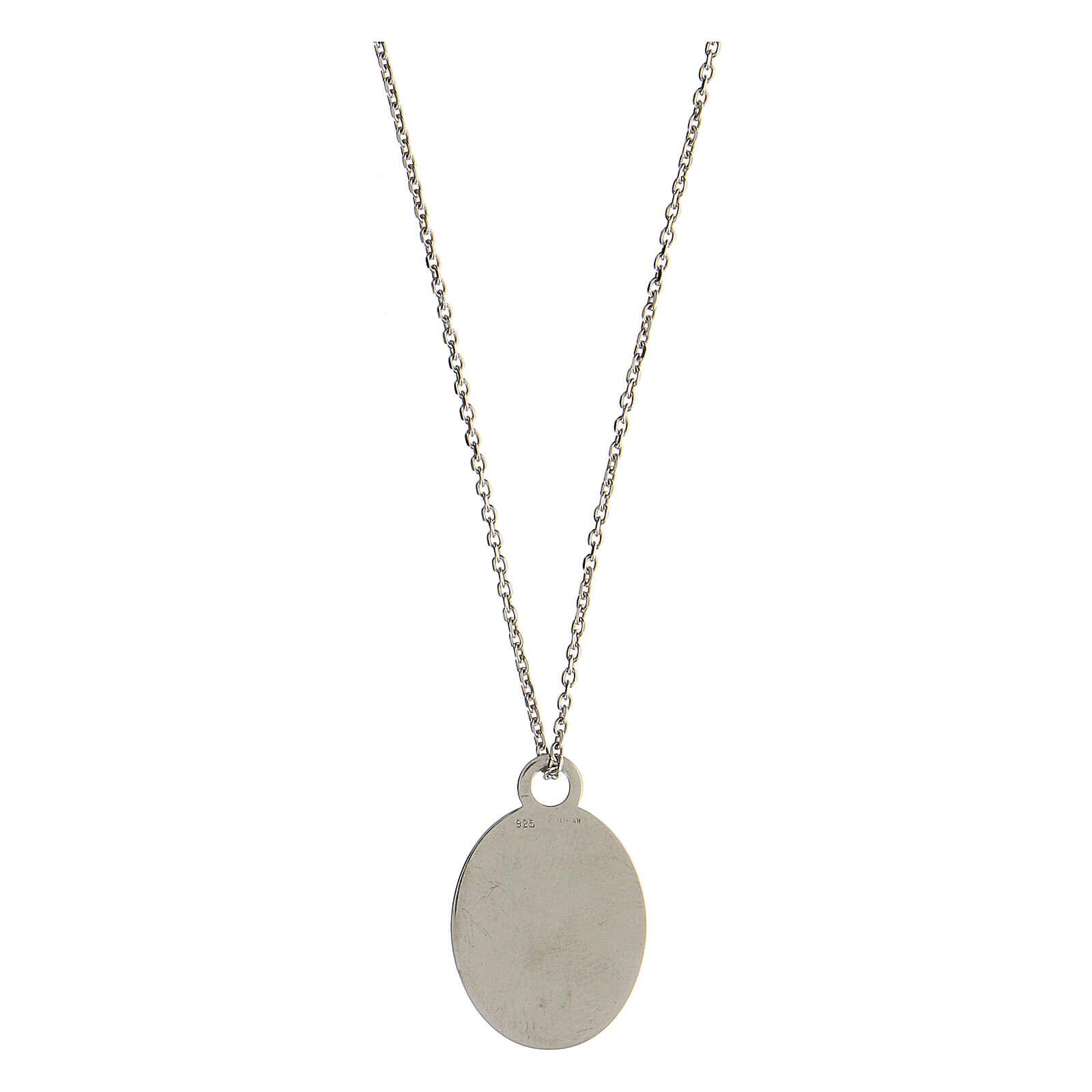 Medalla Solo l'Amore Resta plata 925 4