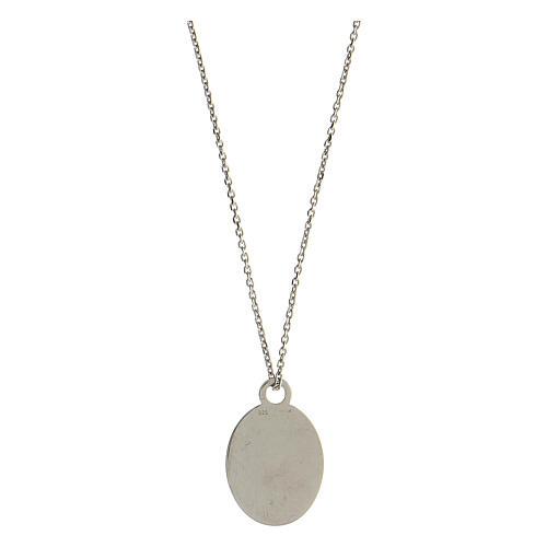 Medalla Solo l'Amore Resta plata 925 2