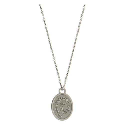 Médaille Solo L'Amore Resta argent 925 1