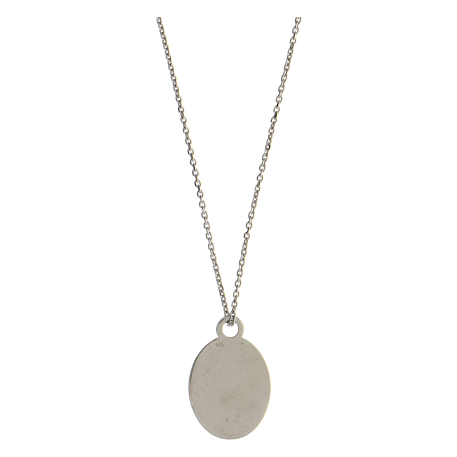 Medalha Solo L'Amore Resta prata 925 4