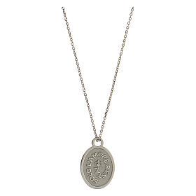 Medalha Solo L'Amore Resta prata 925 s1