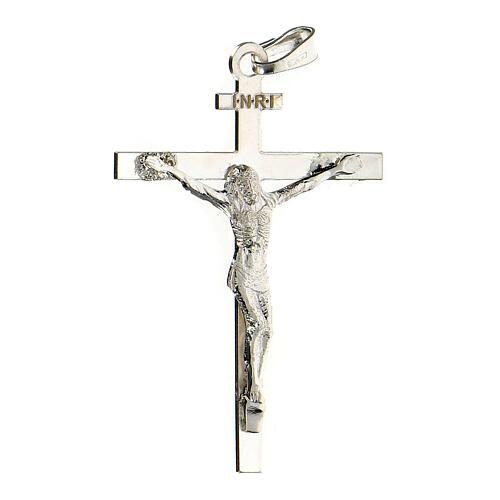 Pendentif Crucifix 4x3 cm argent 925 2,25 gr 2