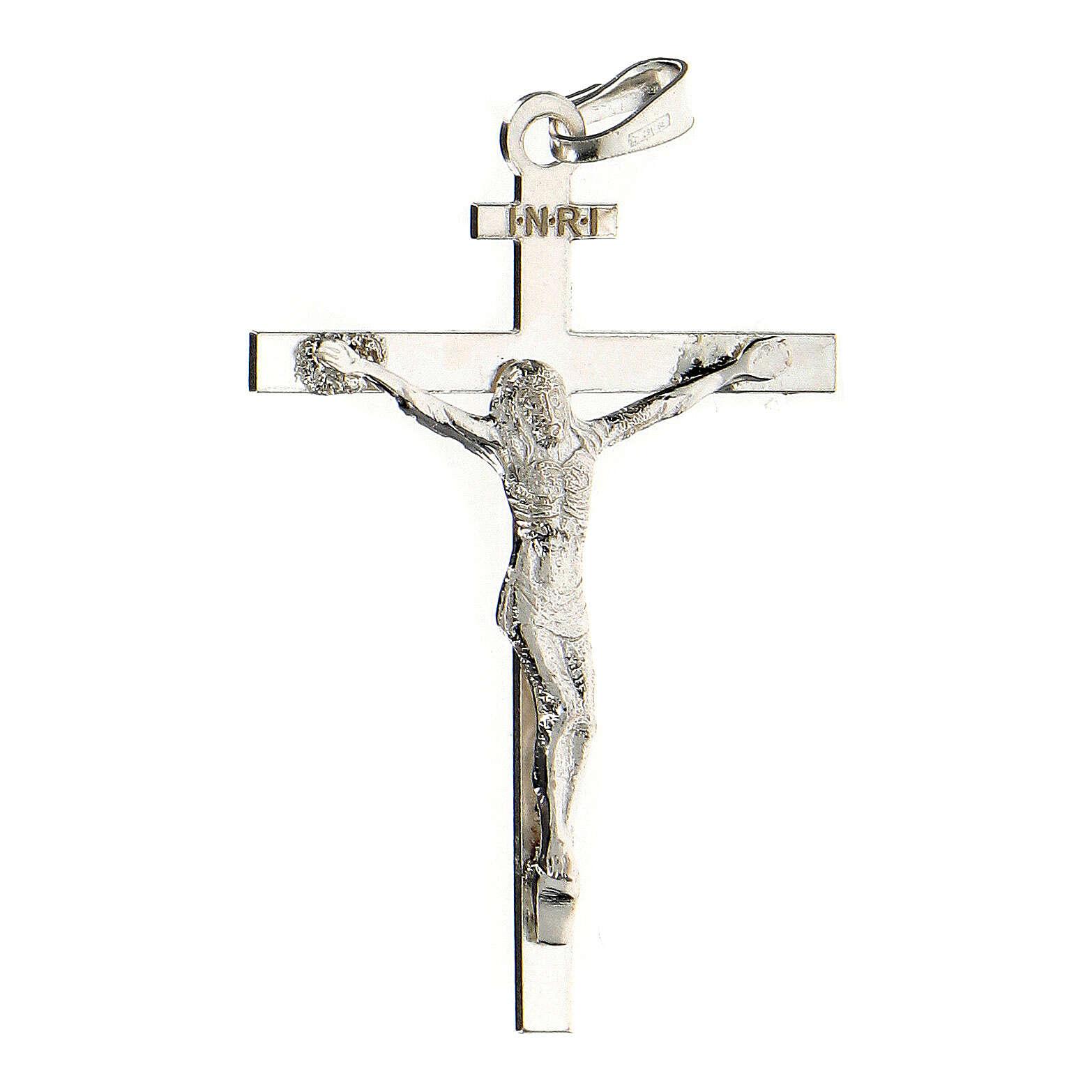 Pendente Crocifisso 4x3 cm argento sterling 2,25 gr 4