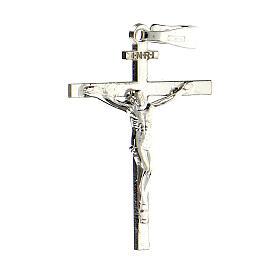 Pendente croce argento 925 Crocefisso Miracoloso 2,6x2 cm s2
