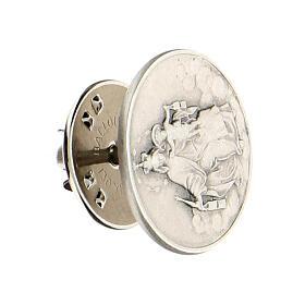 Broche Notre-Dame du Mont-Carmel argent 925 s2