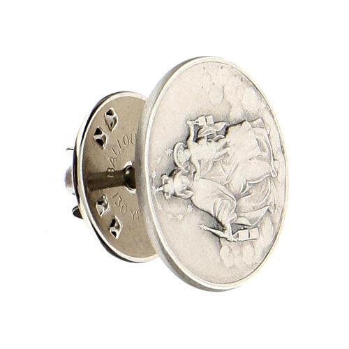 Broche Notre-Dame du Mont-Carmel argent 925 2